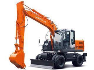 日立ZX140W-3进口挖掘机