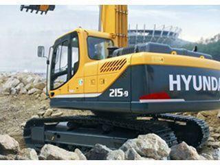 现代 R215-9 挖掘机