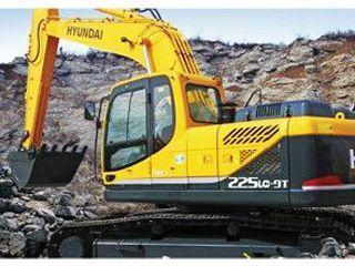 现代 R225LC-9T 挖掘机