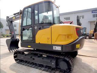 沃爾沃 EC80D 挖掘機圖片