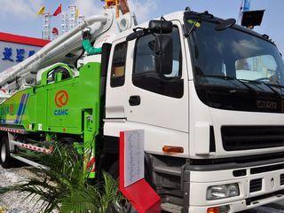华菱星马 AH5384THB-49 泵车