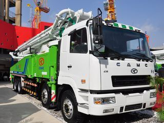 华菱星马 AH5410THB-56 泵车