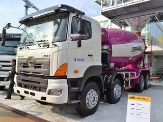利勃海尔 HTM1204L广汽日野 搅拌运输车