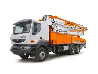 山推 HJC5331THB-45奔驰 泵车