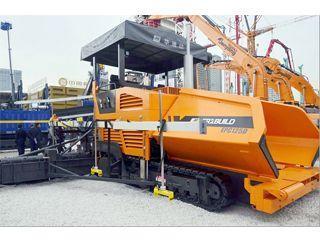 华通动力 EPC125D 沥青摊铺机
