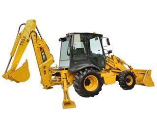 柳工 CLG765A 挖掘装载机