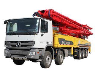鸿得利 HDL5530THB(6365E) 泵车