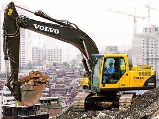 沃尔沃EC210BP挖掘机