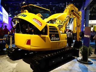 小松PC88MR-10挖掘机