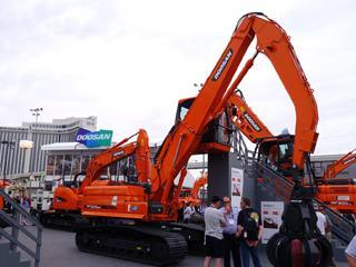 斗山 DX225MH-3 挖掘机