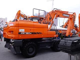 斗山 DX190W-3 挖掘机