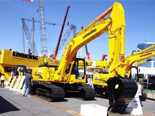 龙工CDM6235挖掘机