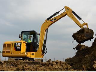 卡特彼勒 306E 挖掘机