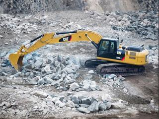 卡特彼勒329D2L液压挖掘机