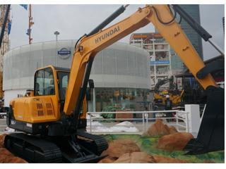 现代R60-V挖掘机