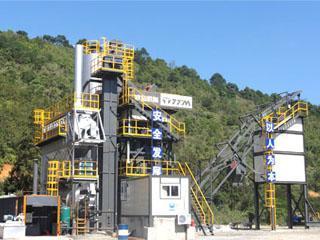 铁拓机械 PLB-1000 沥青搅拌站