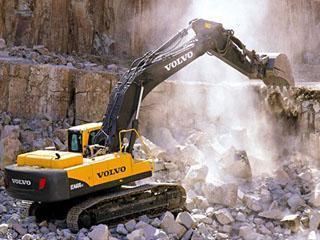 沃尔沃EC140BP挖掘机