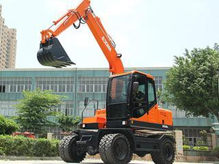 华南重工 HNE80W 挖掘机