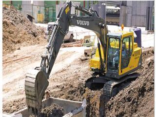 沃尔沃EC140B Prime挖掘机