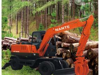 南特机械 NT80W 挖掘机