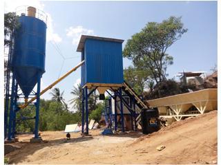 东南机械 HZS180P 混凝土搅拌站