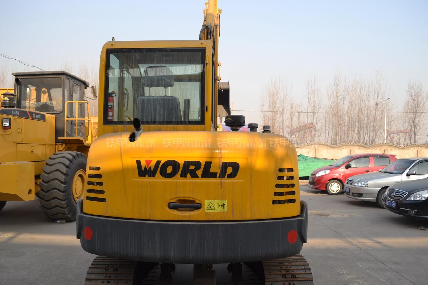 沃得重工w260-7挖掘机整机外观