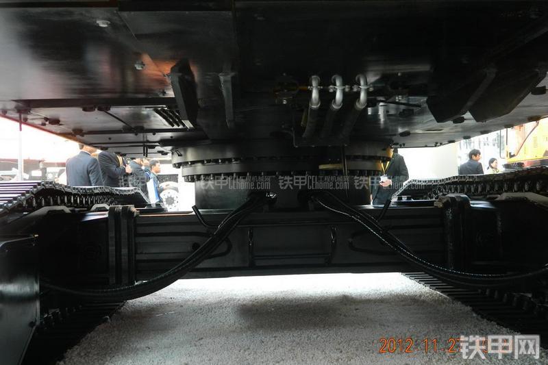 三一重工SR280RII(三一底盘)旋挖钻局部