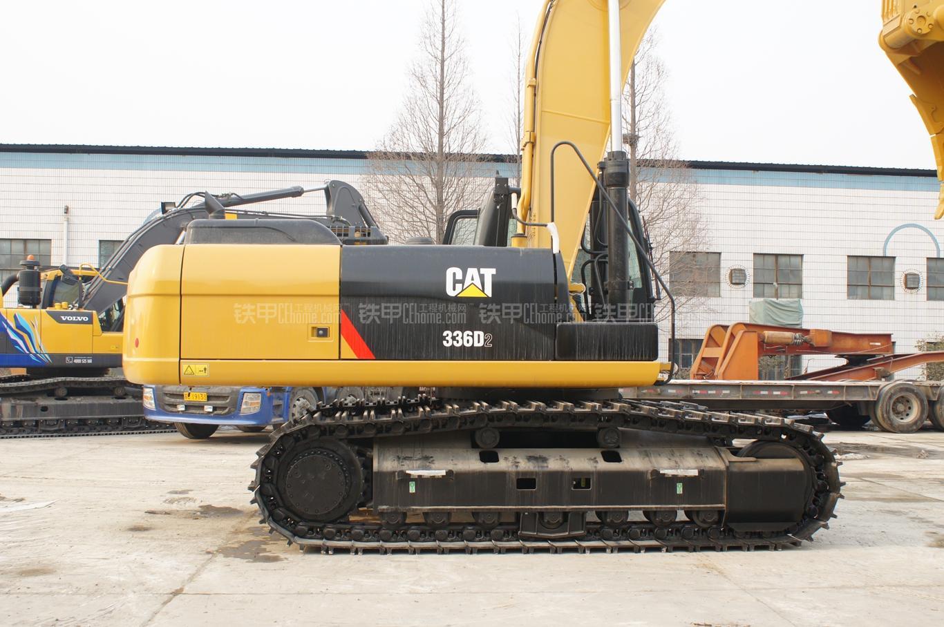 卡特彼勒336D2挖掘机整机外观