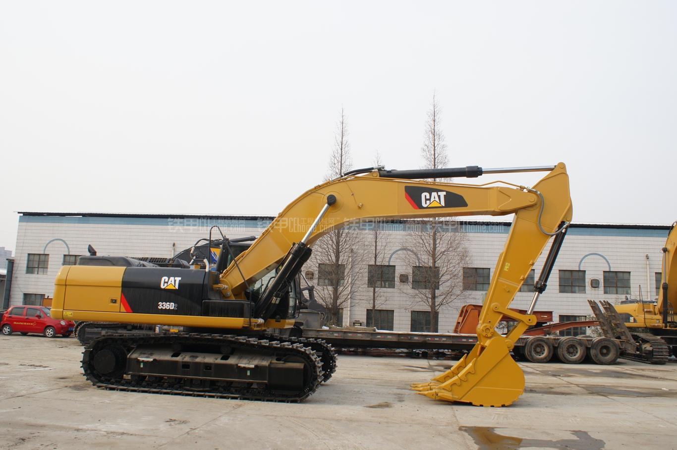 卡特彼勒336D2液压挖掘机整机外观